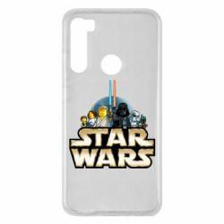 Чохол для Xiaomi Redmi Note 8 Star Wars Lego