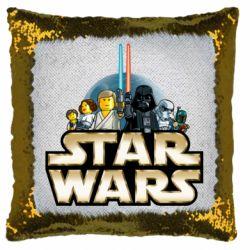 Подушка-хамелеон Star Wars Lego