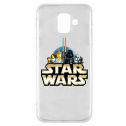Чохол для Samsung A6 2018 Star Wars Lego