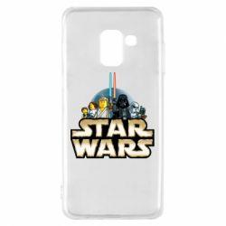 Чохол для Samsung A8 2018 Star Wars Lego