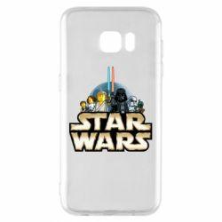 Чохол для Samsung S7 EDGE Star Wars Lego