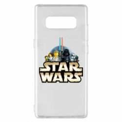 Чохол для Samsung Note 8 Star Wars Lego
