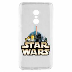 Чохол для Xiaomi Redmi Note 4 Star Wars Lego