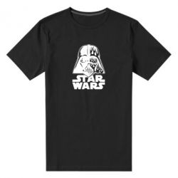 Чоловіча стрейчева футболка STAR WARS MASK