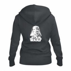 Жіноча толстовка на блискавці STAR WARS MASK