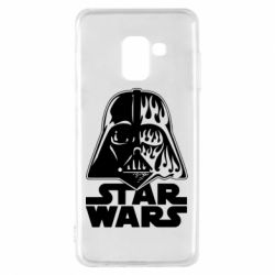 Чохол для Samsung A8 2018 STAR WARS MASK