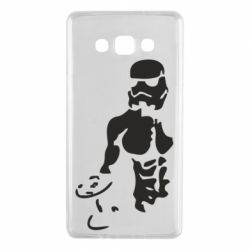 Чехол для Samsung A7 2015 Star Wars с гантелей