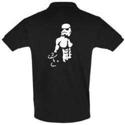 Футболка Поло Star Wars с гантелей - FatLine