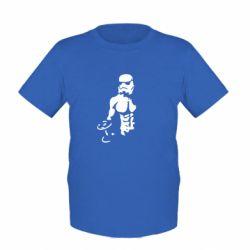 Детская футболка Star Wars с гантелей - FatLine