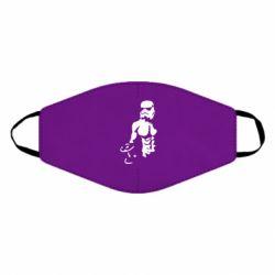 Маска для лица Star Wars с гантелей