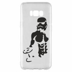Чехол для Samsung S8+ Star Wars с гантелей