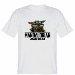 Мужская футболка Star Wars Yoda beby