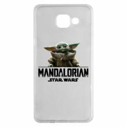 Чехол для Samsung A5 2016 Star Wars Yoda beby