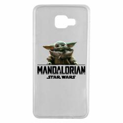 Чехол для Samsung A7 2016 Star Wars Yoda beby