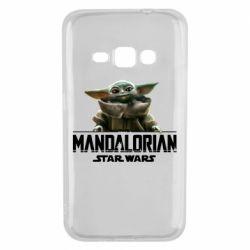 Чехол для Samsung J1 2016 Star Wars Yoda beby