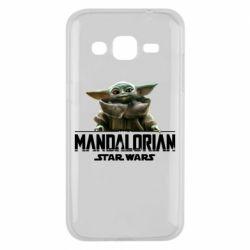 Чехол для Samsung J2 2015 Star Wars Yoda beby