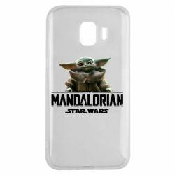 Чехол для Samsung J2 2018 Star Wars Yoda beby