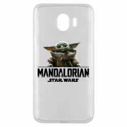 Чехол для Samsung J4 Star Wars Yoda beby