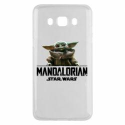 Чехол для Samsung J5 2016 Star Wars Yoda beby