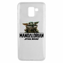 Чехол для Samsung J6 Star Wars Yoda beby