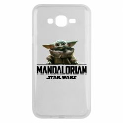 Чехол для Samsung J7 2015 Star Wars Yoda beby