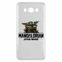 Чехол для Samsung J7 2016 Star Wars Yoda beby