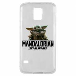 Чехол для Samsung S5 Star Wars Yoda beby