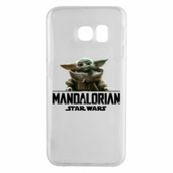 Чехол для Samsung S6 EDGE Star Wars Yoda beby