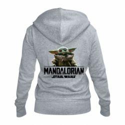 Женская толстовка на молнии Star Wars Yoda beby