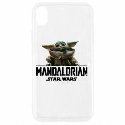 Чехол для iPhone XR Star Wars Yoda beby
