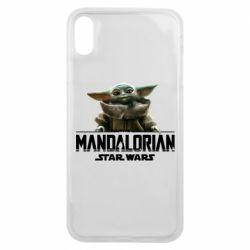 Чехол для iPhone Xs Max Star Wars Yoda beby