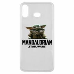 Чехол для Samsung A6s Star Wars Yoda beby