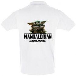 Мужская футболка поло Star Wars Yoda beby