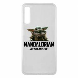 Чехол для Samsung A7 2018 Star Wars Yoda beby