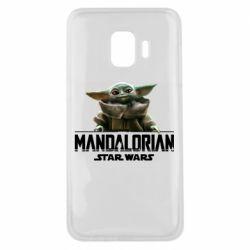 Чехол для Samsung J2 Core Star Wars Yoda beby