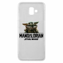 Чехол для Samsung J6 Plus 2018 Star Wars Yoda beby