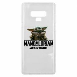 Чехол для Samsung Note 9 Star Wars Yoda beby