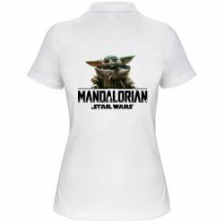 Женская футболка поло Star Wars Yoda beby