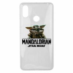Чехол для Xiaomi Mi Max 3 Star Wars Yoda beby