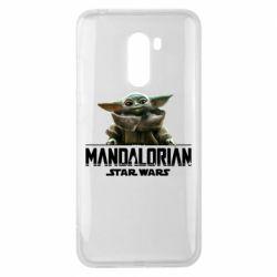 Чехол для Xiaomi Pocophone F1 Star Wars Yoda beby