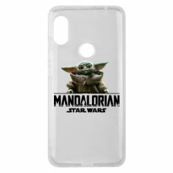 Чехол для Xiaomi Redmi Note 6 Pro Star Wars Yoda beby