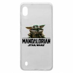 Чехол для Samsung A10 Star Wars Yoda beby