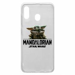 Чехол для Samsung A20 Star Wars Yoda beby