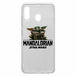 Чехол для Samsung A30 Star Wars Yoda beby