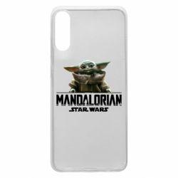 Чехол для Samsung A70 Star Wars Yoda beby