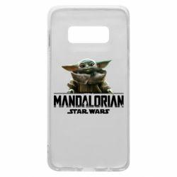 Чехол для Samsung S10e Star Wars Yoda beby