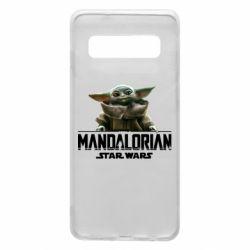 Чехол для Samsung S10 Star Wars Yoda beby