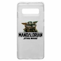 Чехол для Samsung S10+ Star Wars Yoda beby