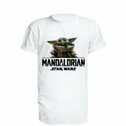 Удлиненная футболка Star Wars Yoda beby
