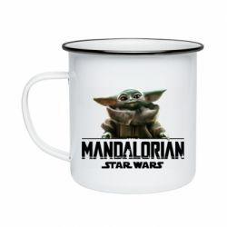 Кружка эмалированная Star Wars Yoda beby